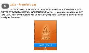 Java - Premiers pas