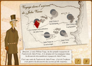 Voyage dans l'Univers de Jules Vernes