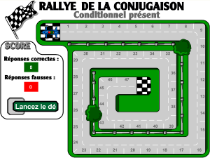 Le Rallye de la conjugaison