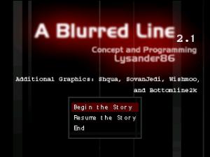 A Blurred Line