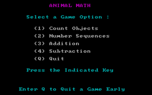 Animal Math