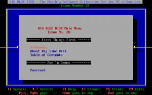 Big Blue Disk #28