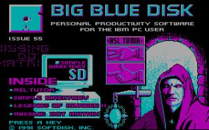 Big Blue Disk #55