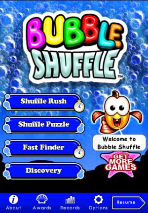 Bubble Shuffle