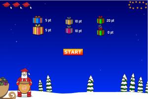 Aidez le Père Noël à recueillir des cadeaux