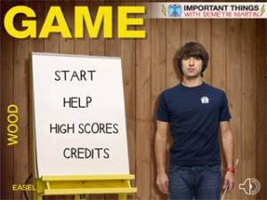 Important Things with Demetri Martin : Game