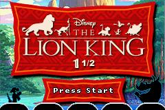 Disney\'s The Lion King 1 ½