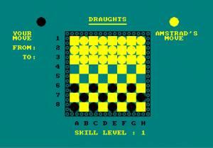 Draughts (Amstrad Disk 50)