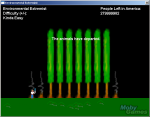 Environmental Extremist