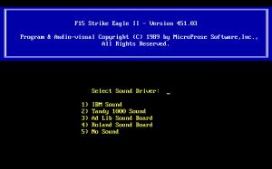 F-15 Strike Eagle II: Operation Desert Storm Scenario Disk