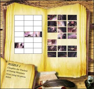 Fighting Fantasy Picture Puzzle