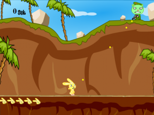 Happy Tree Friends Games: Flippy Attack
