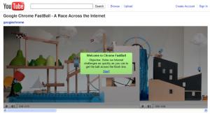 Google Chrome Fastball