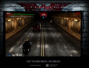 Gotham City Street Chase