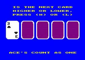 Play High/low (Amstrad Disk 50)