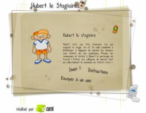 Hubert le stagiaire