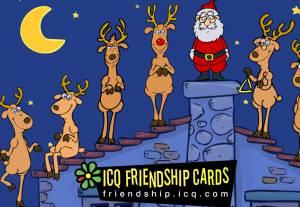 ICQ Friendship cards