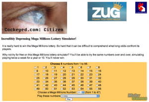 Incredibly Depressing Mega Millions Lottery Simulator