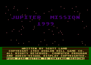 Jupiter Mission 1999