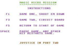 Magic Micro Mission