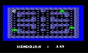 Maze Eater (Amstrad Disk 50)