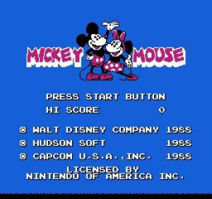 Mickey Mousecapade/Mickey Mouse