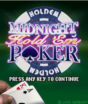 Midnight Hold\'em Poker