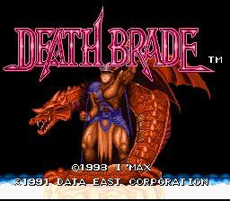 Mutant Fighters: Death Brade