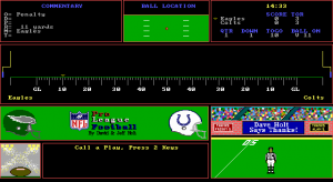 NFL Pro League Football (1991 edition)