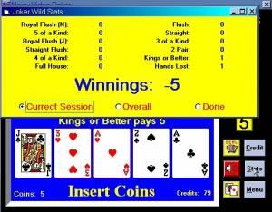 Noisy Video Poker and Blackjack