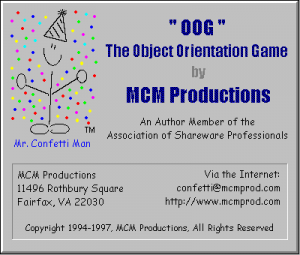 OOG: The Object Orientation Game