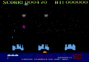 Overscan Invaders