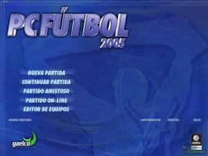PC Fútbol 2005