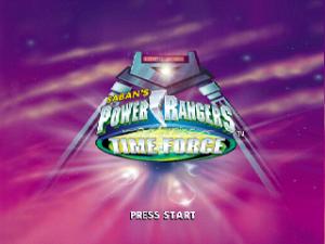 Saban's Power Rangers: Time Force