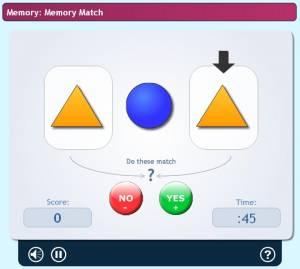 Lumosity : Memory Match