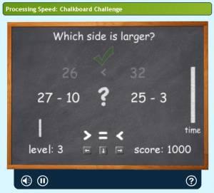 Lumosity : Chalkboard Challenge