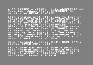 Scott Adams\' Graphic Adventure #1: Adventureland