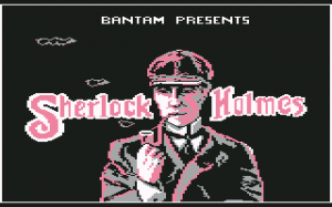 """Sherlock Holmes in """"Another Bow"""""""
