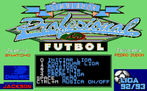 Simulador Profesional de Fútbol