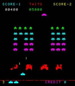 Space Invaders part II / Space Invaders Deluxe / Moon Base