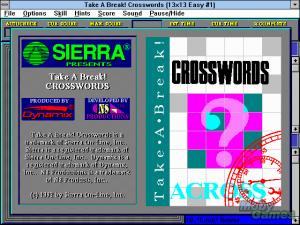 Take a Break! Crosswords