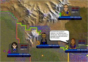 The Redistricting Game