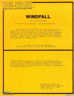 Windfall: The Oil Crisis Game