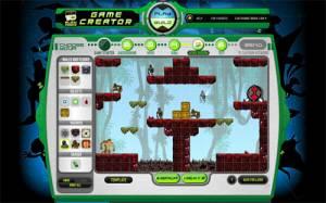 Ben 10 Alien Force Game Creator