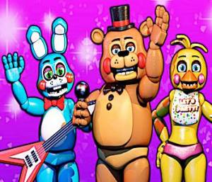 Five Nights at Freddy's Scary Game